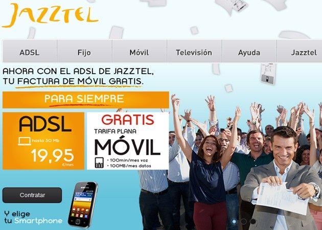 Jazztel oferta ADSL, llamadas y datos en móviles por 19,95 euros 36