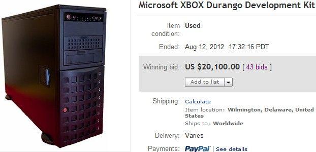 Subastan una 'Xbox 720' por 20.100 dólares 32