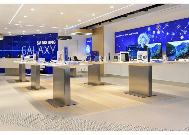 """Samsung abre su propia """"Apple Store"""" en Australia"""