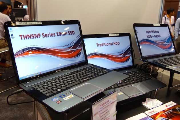 Toshiba demuestra el rendimiento de su disco duro híbrido 28