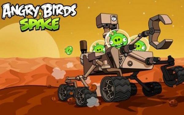 Los Angry Birds ya están en Marte