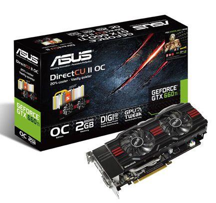 ASUS presenta sus nuevas NVIDIA GeForce GTX 660 Ti 30