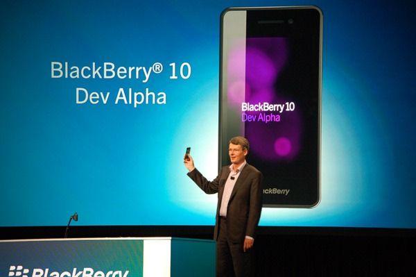 BlackBerry licenciará su sistema operativo móvil a terceros
