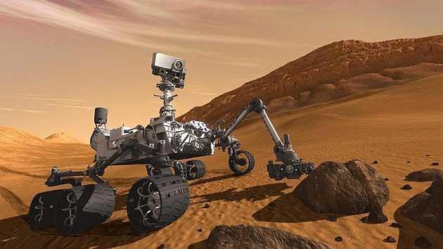 El robot Curiosity ya está en Marte 40