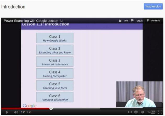 Curso oficial para aprender a buscar mejor con Google 29