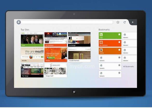 En septiembre tendremos versión preliminar de Firefox para Windows 8