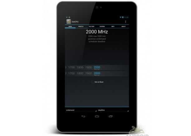 Nexus 7 al límite: CPU a 2 GHz, GPU a 650 MHz 28