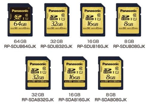 Tarjetas SD Panasonic resistentes a … ¿rayos X?