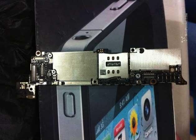 ¿Es ésta la placa base del iPhone 5?