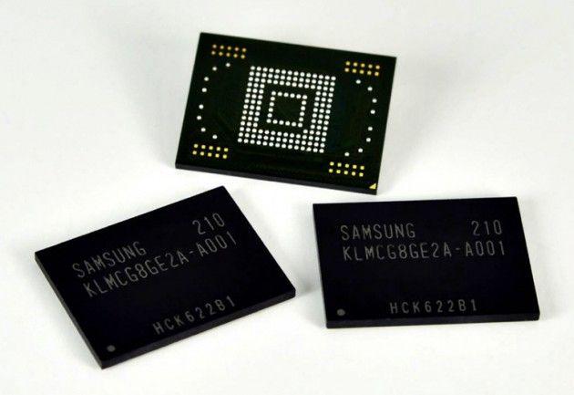 Samsung tiene la memoria para smartphones / tablets más rápida del mercado 30