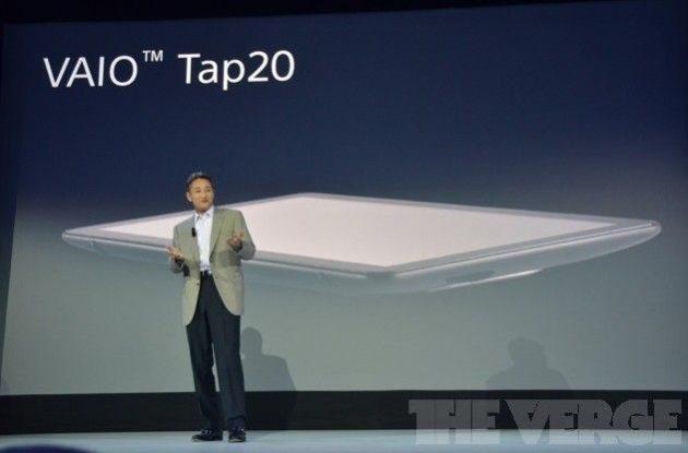 Sony VAIO Tap20, un 'tablet' gigante de 20 pulgadas