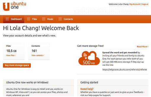 Consigue hasta 20 Gbytes en tu cuenta de Ubuntu One 30