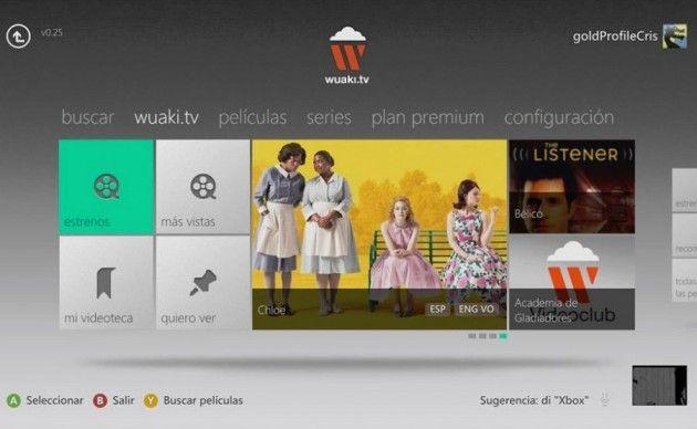 Pelis en tu Xbox 360 con Wuaki.tv