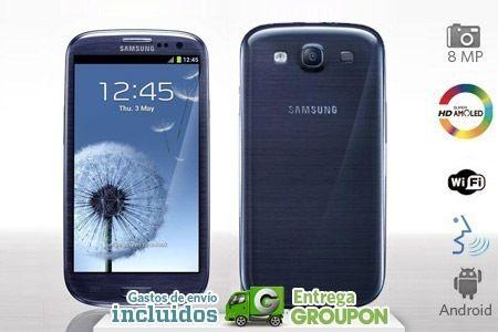 Cupón para Samsung Galaxy S3 libre a 479€ 29