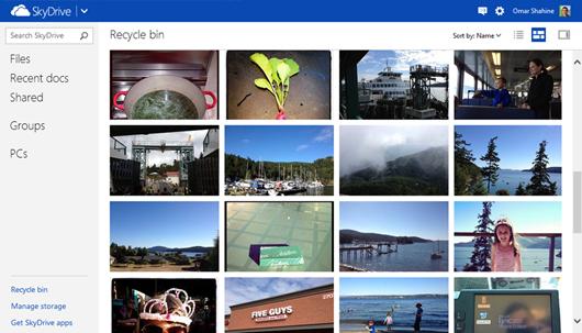 Microsoft añade papelera de reciclaje y encuestas Excel en SkyDrive 34