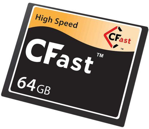 CFast 2.0, nuevo borrador estándar para tarjetas Compact Flash -hasta 600 Mbytes/s-