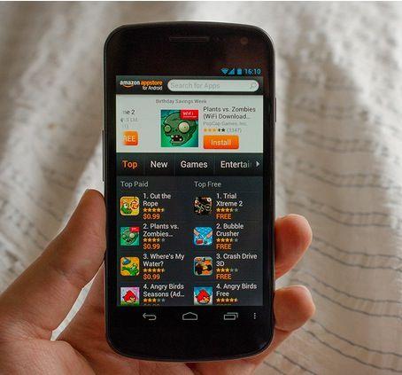 La sorpresa de Amazon, un smartphone Android 30