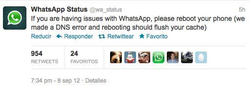 WhatsApp deja de funcionar para muchos usuarios (SOLUCIÓN) 32