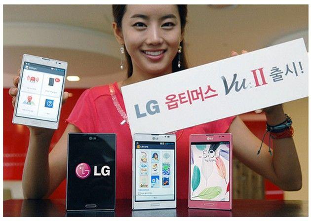 LG presenta el Optimus Vu II como alternativa al Galaxy Note II 29