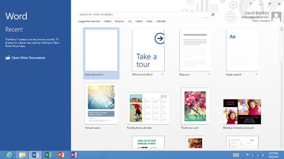 Microsoft detalla la versión de Office 2013 que incluirán los tablets Windows RT 39