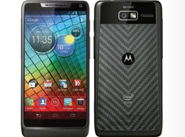 RAZRi, primer smartphone Motorola con chip Intel