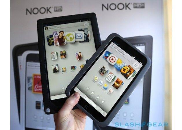 B&N presenta la segunda generación de los tablets Nook 29