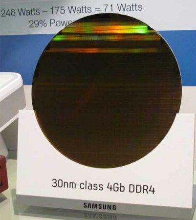 Samsung muestra memorias DDR4 en el IDF 30