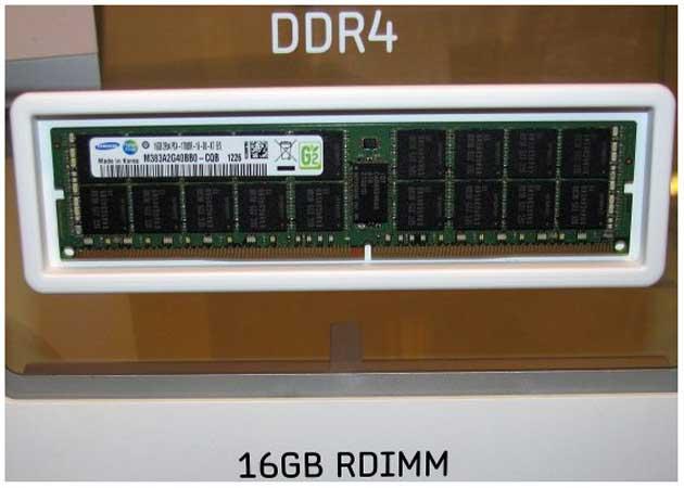 Samsung muestra memorias DDR4 en el IDF 29