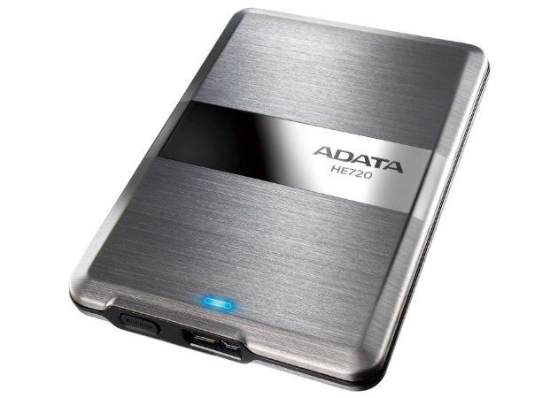 ADATA DashDrive Elite HE720, el disco duro externo más fino del mundo