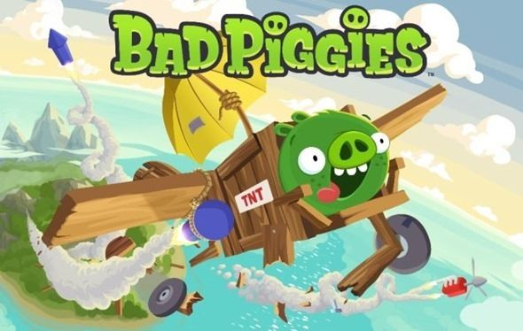 Primer tráiler del juego Bad Piggies de Rovio 33
