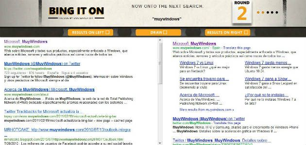 Bing it ON: Google vs Bing, tú juzgas quien gana 31