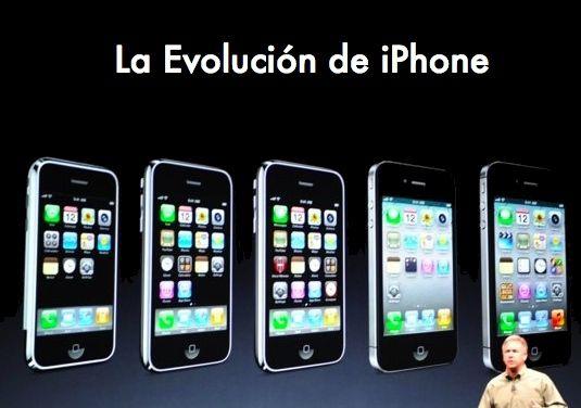 Evolución en forma y características de iPhone, desde el original hasta iPhone 5 31