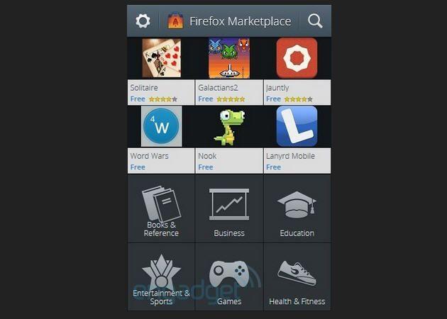 Firefox OS muestra su tienda de aplicaciones 28