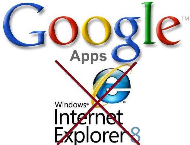 Google dejará de dar soporte a IE 8 en sus servicios web el próximo 15 de noviembre 30