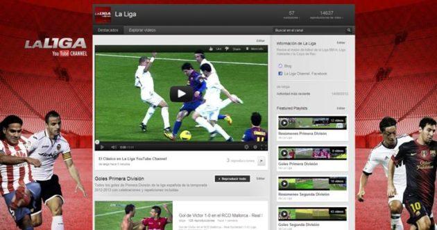 La Liga YouTube
