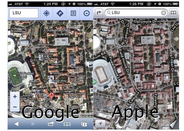 No te pierdas los increíbles gazapos de los nuevos mapas de iOS 6