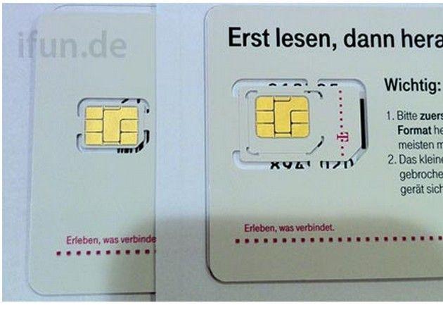 Llegan las nano-SIM: lanzamiento inminente del iPhone 5