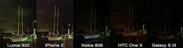 Comparativa de fotos con baja luminosidad smartphones gama alta 28