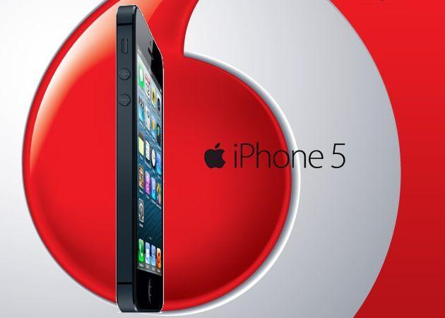Precio iPhone 5 en Vodafone con y sin permanencia 27