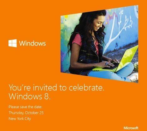 Microsoft confirma el lanzamiento de Windows 8 el 25 de octubre 27