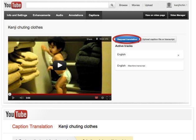 youtube traducciones google YouTube facilita la integración de subtítulos en 300 idiomas