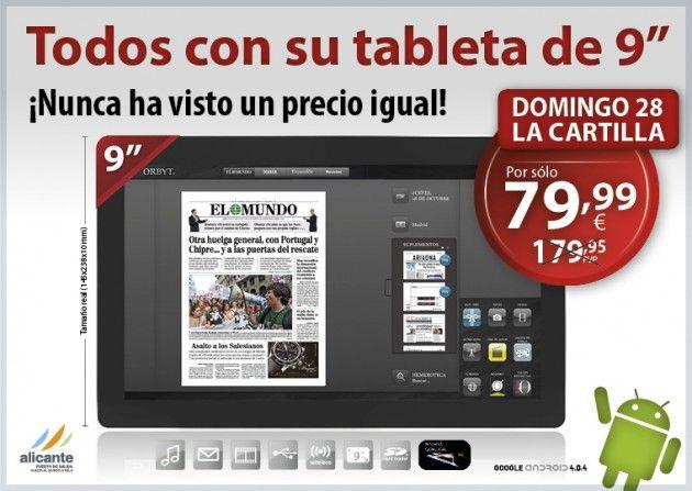 Tablet Android Prixton, promoción El Mundo, veamos si merece la pena 38