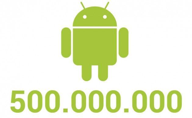 500 millones de dispositivos Android activados, la familia crece 30