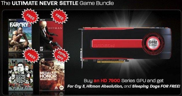 AMD regala juegos (packs de hasta 170$) con sus GPUs Radeon HD 7000 30