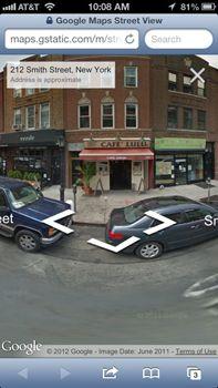Google Street View llega a iOS 6, eso sí, en versión web 31