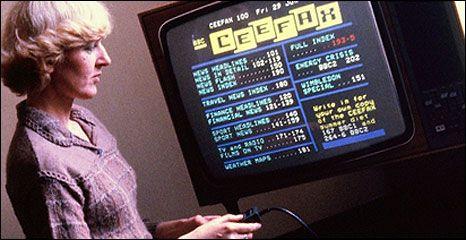 El primer teletexto del mundo, CEEFAX, morirá mañana 32