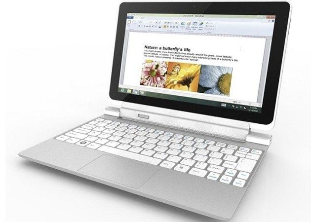 Acer Iconia W700, tablet Ivy Bridge con Windows 8