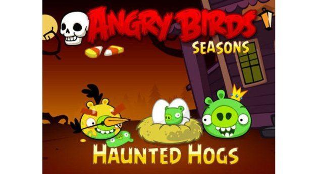 Angry Birds Seasons se viste de Halloween en iOS 32