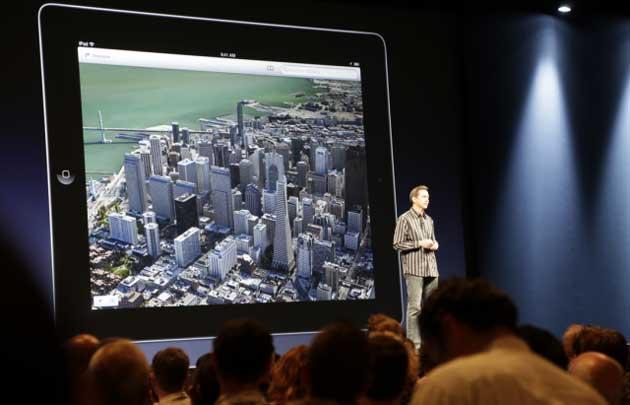 Ruedan cabezas en Apple por el desastre de la aplicación de mapas