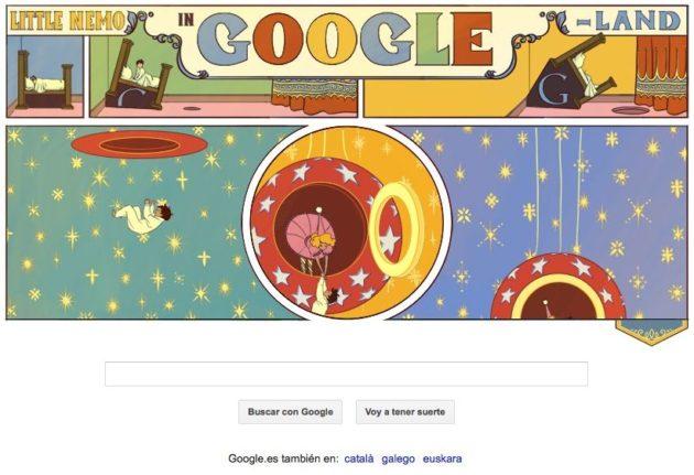 Nuevo Doodle interactivo en Google: Little Nemo 37